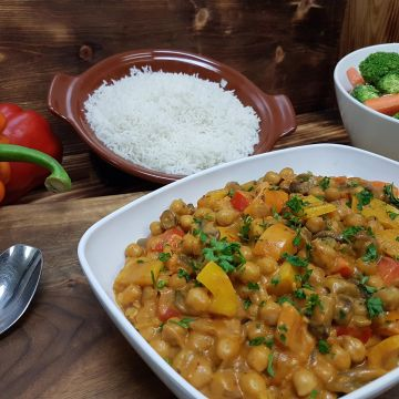 Chickpea and Veggie Curry