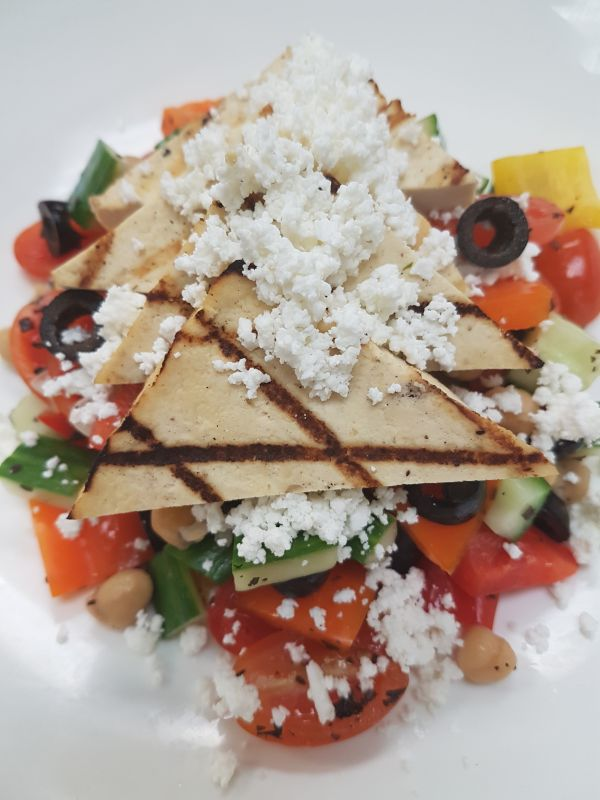 Greek Tofu Salad