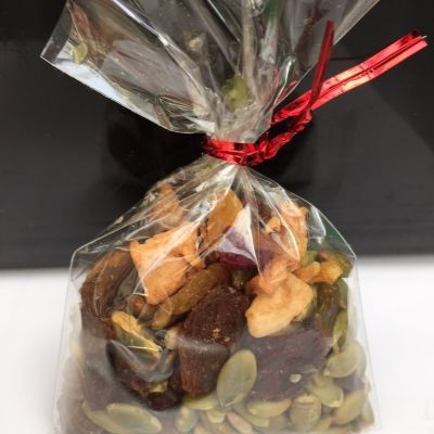 Trail Mix with Dried Fruit and Seeds